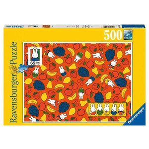 Ravensburger Miffy's Fruit Puzzle (500 pcs) by Dick Bruna
