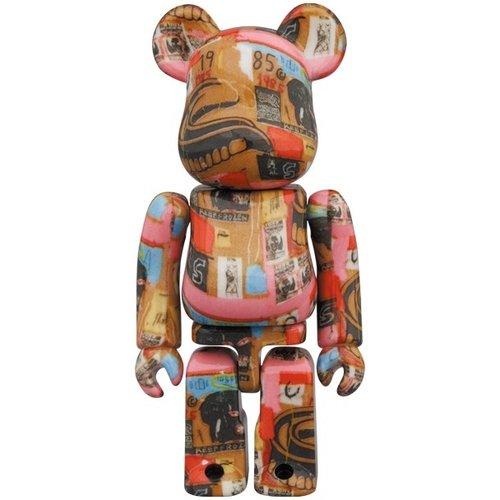 Medicom Toys [Pre-Order] 400% & 100% Bearbrick set - Andy Warhol x Jean-Michel Basquiat (V2 - Dentures)