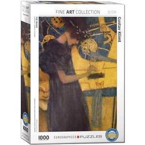 Eurographics The Music Puzzle (1000 pcs) by Gustav Klimt