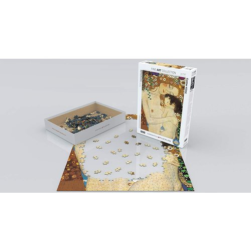 Eurographics Mother and Child Puzzle (1000 pcs) by Gustav Klimt