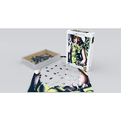 Eurographics Young Girl in Green Puzzle (1000 pcs) by Tamara de Lempicka