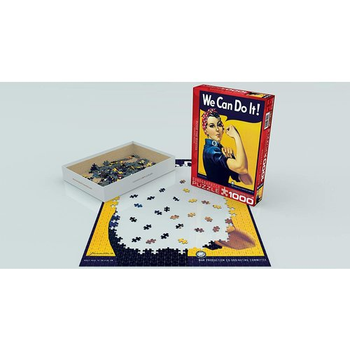 Eurographics Rosie the Riveter Puzzle (1000 pcs) by Howard Miller