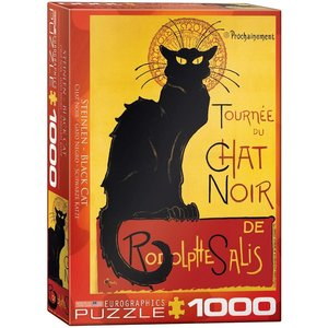 Eurographics Chat Noir Puzzle (1000 pcs) by Steinlen