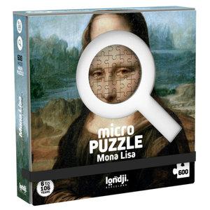 Londji Mona Lisa Micropuzzle (600 pcs) by Leonardo Da Vinci