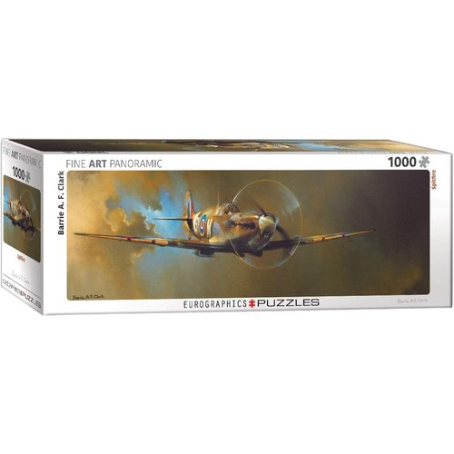 Eurographics Spitfire Panorama Puzzle (1000 pcs) by Barrie A.F. Clark