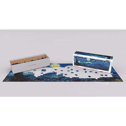 Eurographics Starry Night Panorama Puzzle (1000 pcs) by Vincent Van Gogh