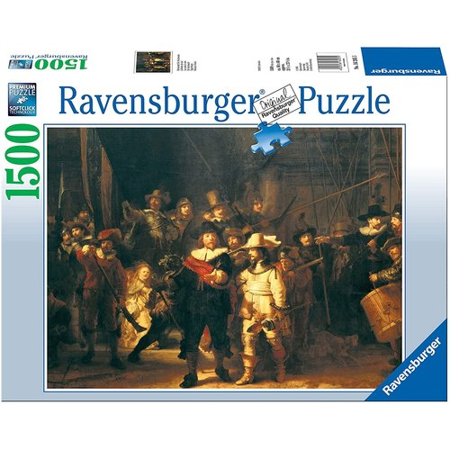 Ravensburger The Night Watch Puzzle (1500 pcs) by Rembrandt van Rijn