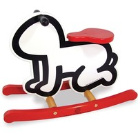 Rocking Horse (Radiant Baby) by Keith Haring