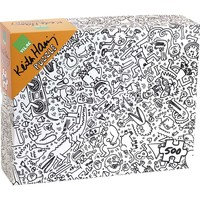 Haring Collage Puzzle (500 pcs) by Keith Haring