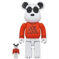 [PO] 400% & 100% Bearbrick set - Joe Cool (Peanuts)