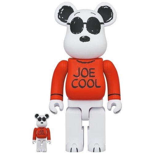 Medicom Toys [Pre-Order] 400% & 100% Bearbrick set - Joe Cool (Peanuts)