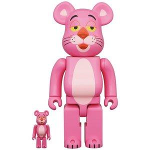 Medicom Toys [PO] 400% & 100% Bearbrick set - Pink Panther