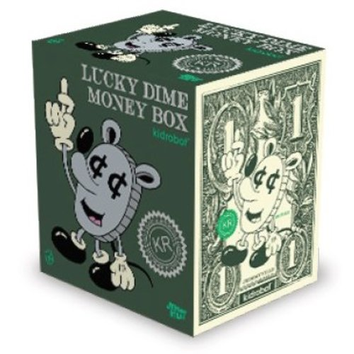 "Kidrobot 10"" Lucky Coin Money Bank by Jeremyville"