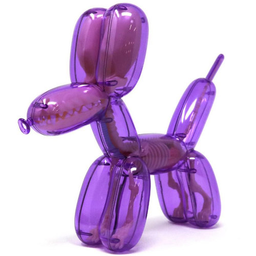 "4D Master 10"" Balloon Dog Anatomy (Purple) by Jason Freeny"
