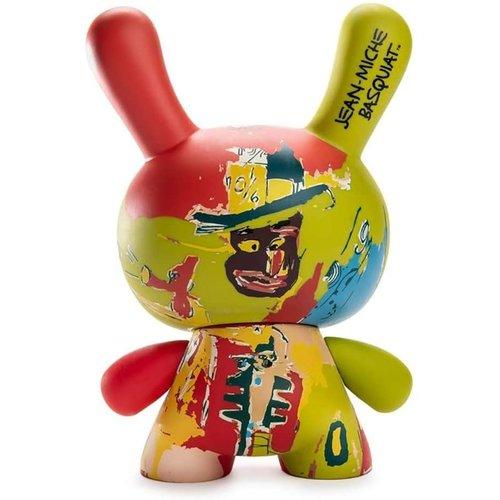 "Kidrobot 8"" Wine of Babylon Masterpiece Dunny by Jean-Michel Basquiat"