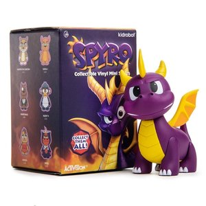 Kidrobot Spyro the Dragon - Blindbox mini series