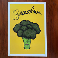 Brocolove Print (A3) by Kloes
