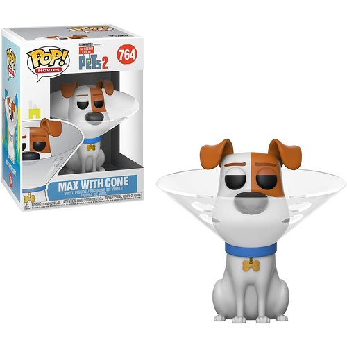 Funko Max with Cone #764 (Secret Life of Pets 2) POP! Movies
