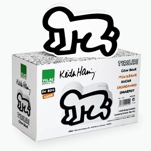 Vilac Coin Bank by Keith Haring