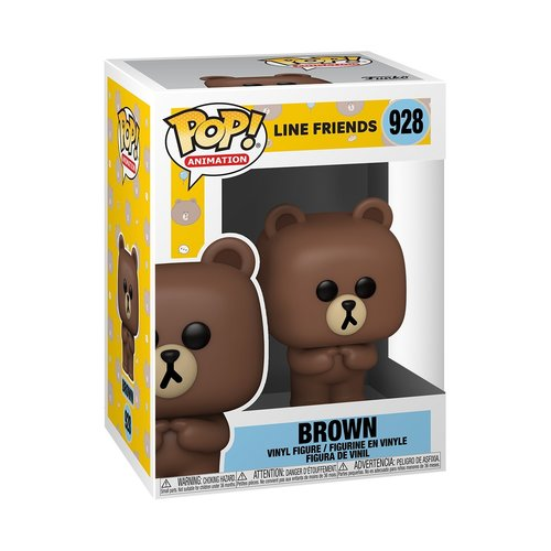 Funko Brown  #928 (Line Friends) POP! Animation