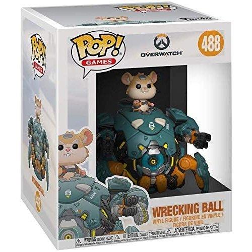 Funko 6'' Wrecking Ball #488 (Overwatch) POP! Games