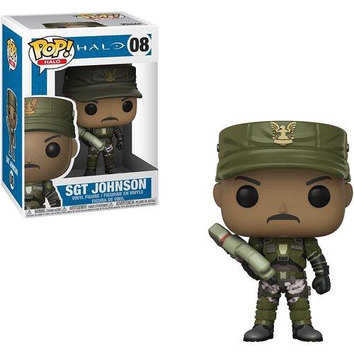 Funko SGT Johnson #08 (Halo) POP! Games