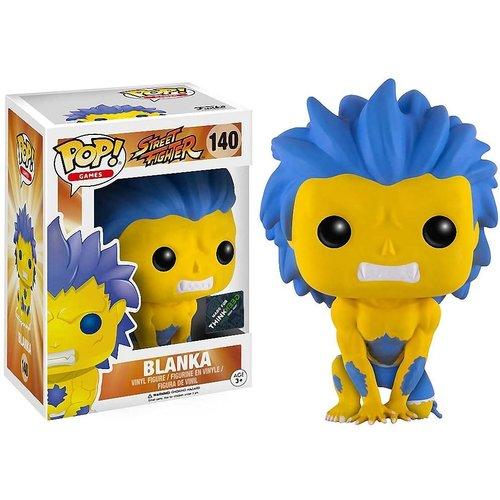Funko Blanka (Yellow) #140 (Street Fighter) POP! Games