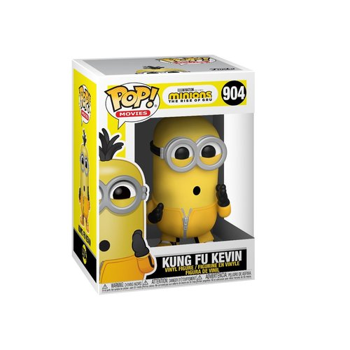 Funko Kung Fu Kevin #904 (Minions: The Rise Of Gru) POP! Movies