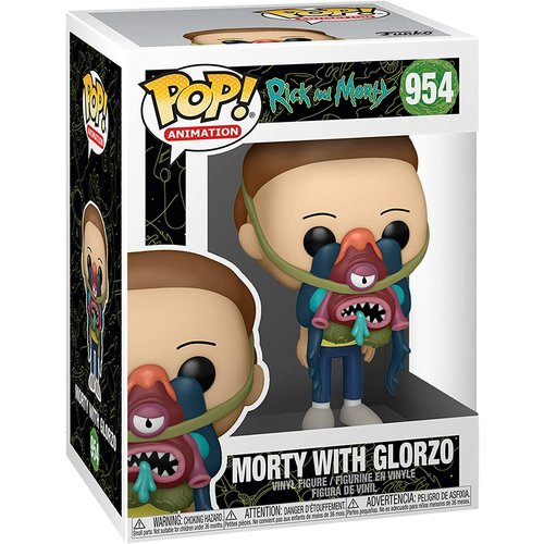 Funko Morty with Glorzo #954 (Rick And Morty) POP! Animation