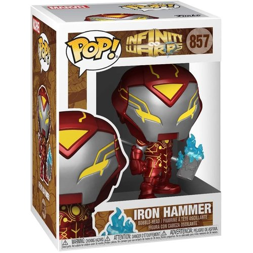 Funko Iron Hammer #857 (Infinity Warps) POP! Marvel