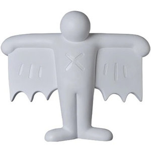 Medicom Toys Flying Devil Statue (White Polystone) by Keith Haring (2G Exclusive)
