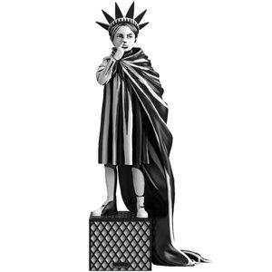 Mighty Jaxx Liberty Girl by Brandalised x Banksy