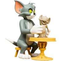 Tom & Jerry The Sculptor Statue by Soap studios