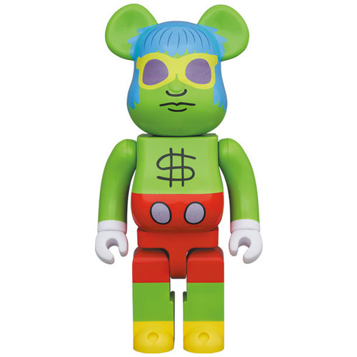 Medicom Toys [Pre-Order] 1000% Bearbrick - Andy Mouse (Keith Haring)