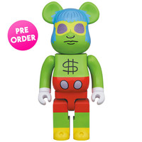 [PO] 1000% Bearbrick - Andy Mouse (Keith Haring)