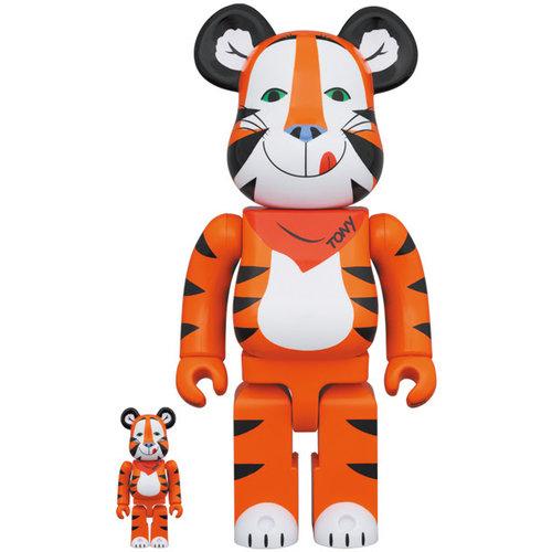 Medicom Toys [Pre-Order] 400% & 100% Bearbrick set - Tony The Tiger Vintage (Kelloggs)