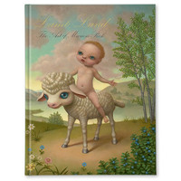 Lamb Land Book + Print (Special Edition) By Marion Peck