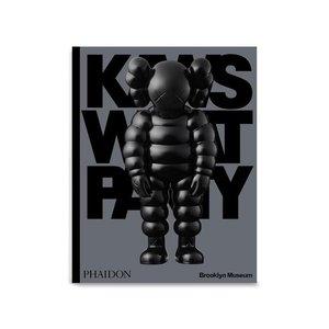Phaidon KAWS: WHAT PARTY Book (Black Edition) by KAWS