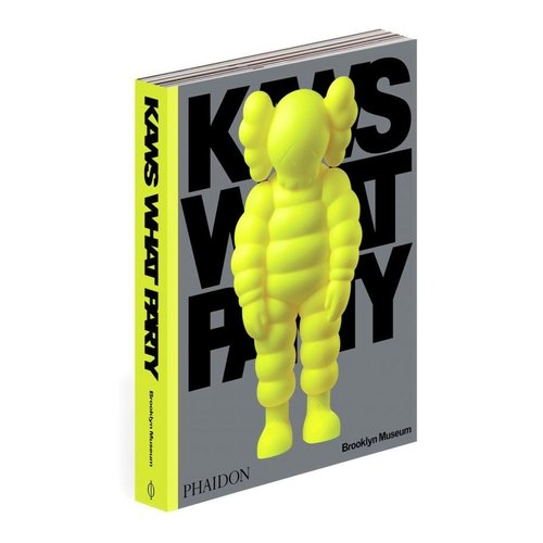 Phaidon KAWS: WHAT PARTY Book (Yellow Edition) by KAWS