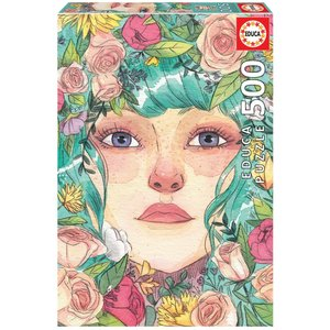 Educa Mei Puzzle (500 pcs) by Esther Gili