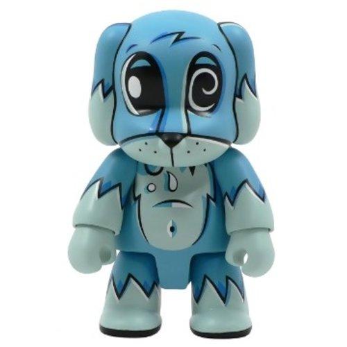 "Toy2r 8"" Qee Toxic Swamp Dog (Blue) by Joe Ledbetter"