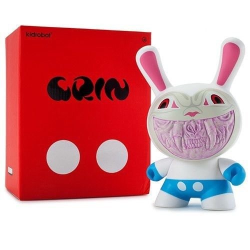"Kidrobot 8"" Apocalypse Grin Dunny by Ron English"