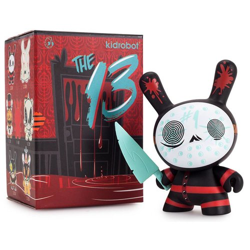 "Kidrobot Dunny ""The 13"" series by Brandt Peters (1x Blindbox)"