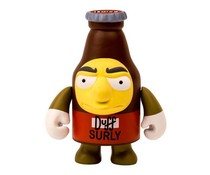 "3"" Surly Duff (The Simpsons) by Matt Groening"