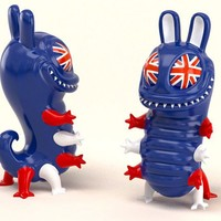 ToyCon Exclusive #1 - Hug The Killer (Union Jack) by Nikopicto x Mighty Jaxx