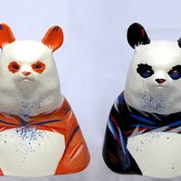 ToyCon Exclusive #3 - Gazer Busts (Queensday & Union Jack) by Angry Woebots