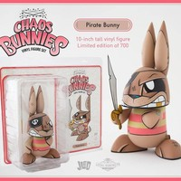 "10"" Pirate Bunny by Joe Ledbetter x The Loyal Subjects"
