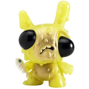 "Kidrobot 8"" Meltdown Dunny (Green) by Chris Ryniak"