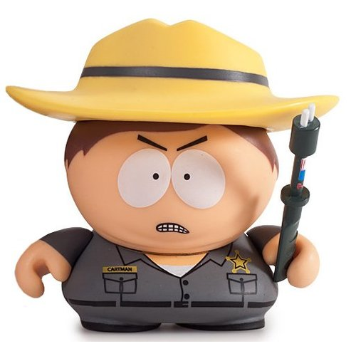 Kidrobot Border Patrol 2/20 - The Many Faces of Cartman Series (South Park)
