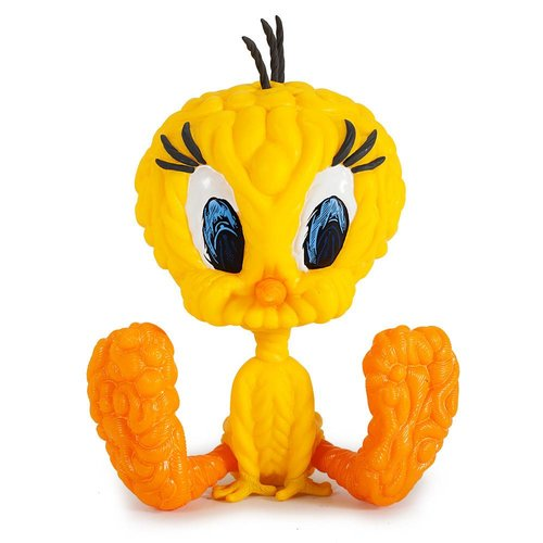 "Kidrobot 8"" Tweety - Yellow (Looney Tunes) by Mark Dean Veca"
